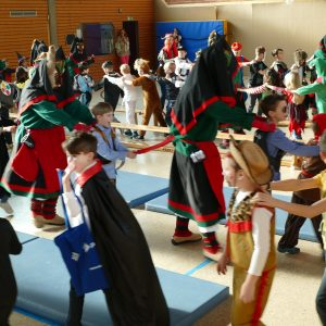 Fasching in der GS-Aich