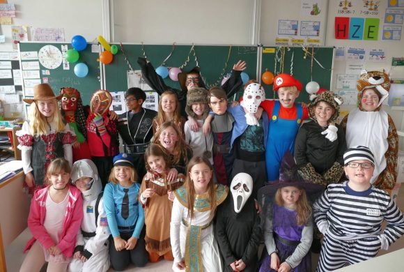 Fasching in Klasse 4